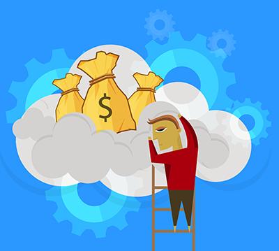 Virtual server cost savings